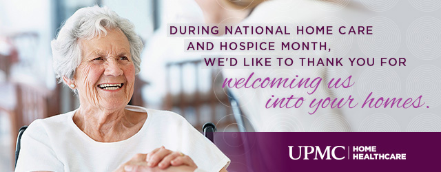 National Homecare and Hospice Month
